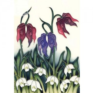 Alpine Meadow greetings card