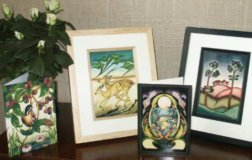 Cards, Paperweights and miscellaneous