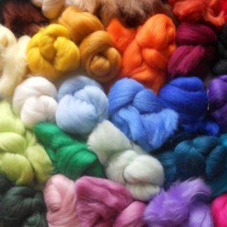 Felting Wools